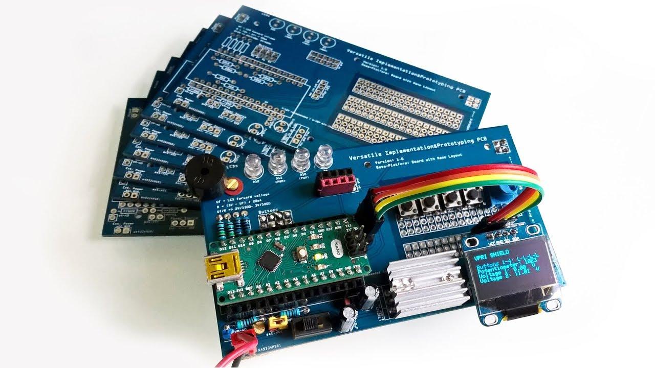 Diy versatile shield for arduino nano part