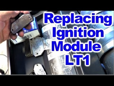 how to replace ignition control module on lt1 firebird trans am