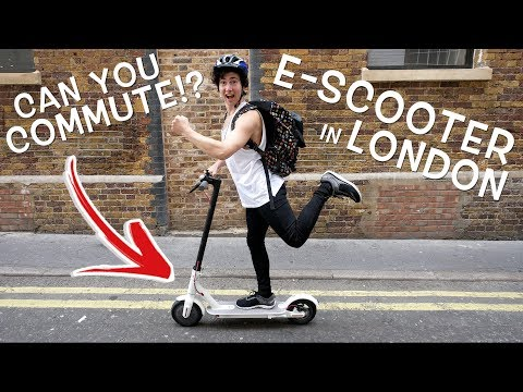 ELECTRIC SCOOTER COMMUTE IN LONDON! (Xiaomi M365)