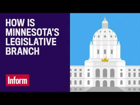 How is Minnesota's Legislative Branch Structured?