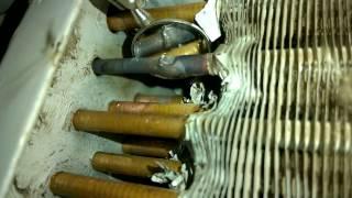 4 tikuvchilik birlik satr condenser ta'mirlash.