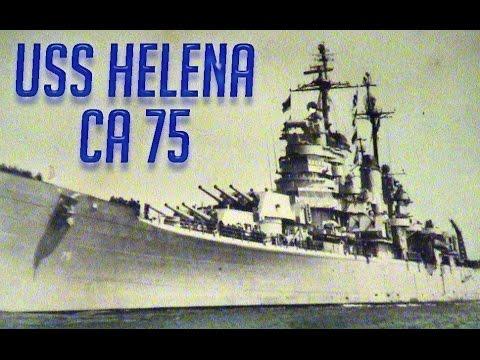 1953 USS Helena (CA-75) / SS Guadalupe (AO-32) / USS Consolation (AH-15)