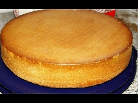 Классический шоколадный бисквит - пошаговый фото рецепт