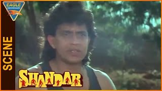 Shandaar Hindi Movie Mithun Chakraborty Saves Mandakini Eagle Hindi Movies