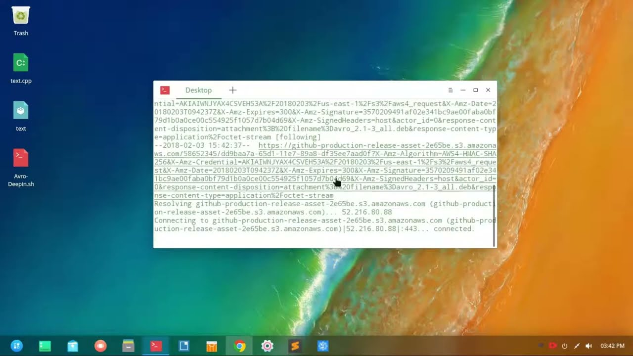 Install Avro in Deepin OS with a script!