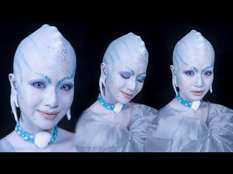 PRINCESS OF THE PEARLS MAKEUP TUTORIAL - Valerian Movie   Makeup, Bald Cap, Erase Eyebrows en streaming