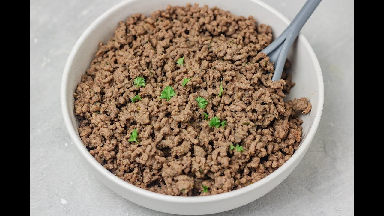 How To Cook Ground Beef - The Dinner Bite