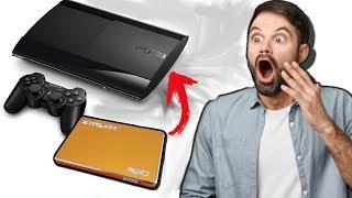 COLOQUEI UM SSD NO PS3 !