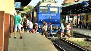 Trenuri de Calatori in Gara Oradea/Passenger Trains in Oradea Station - 26 July 2018