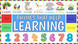 Learning Videos For Toddlers Collection | ABC Song | 123 Song For Children | Phonics Song