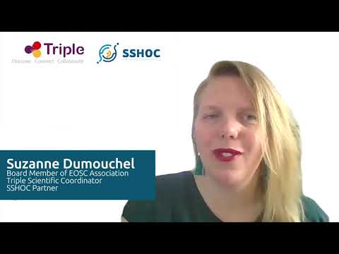 Fireside Chat with Suzanne Dumouchel, TRIPLE, SSHOC and EOSC Association