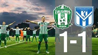 Žalgiris Vilnius 1-1 KI Klaksvik UEFA Europa League highlights