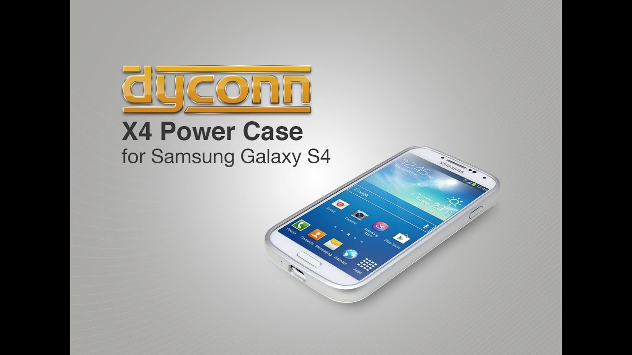 great fit c40f4 66025 Samsung Galaxy S4 Extended Battery Case 5600mAh by Dyconn (Dyconn X4 )