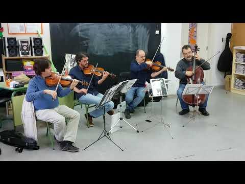 Escola Cambrils - Audició amb el Quartet de Corda de l'Escola de Música de Cambrils.