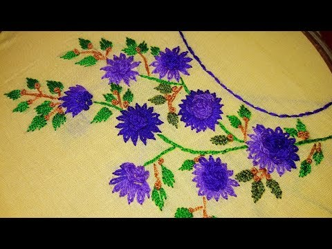 Hand Embroidery Designs Hand Embroidery Stitches Tutorial Full