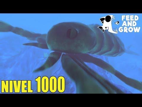Feed and Grow: Fish - CANGREJO VENENOSO GIGANTE NIVEL 1000 - GAMEPLAY ESPAÑOL #44