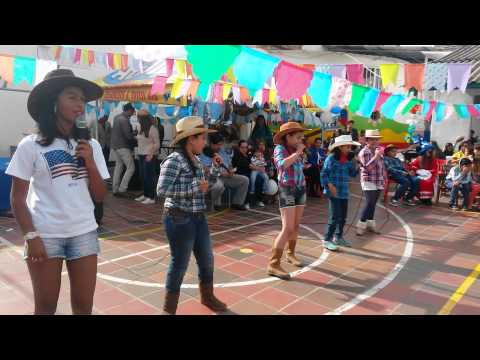 Global Sing-alone Everybody Up..Cambridge School Pamplona Colombia