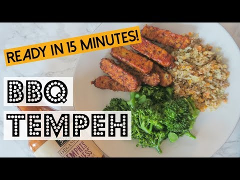 BBQ Tempeh | Easy, Lazy, and Healthy Recipe