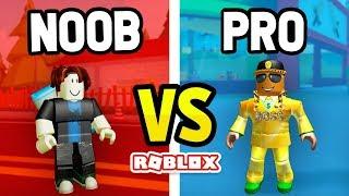 ROBLOX NOOB vs PRO in ROBBERY SIMULATOR