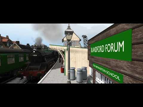 Blandford Forum Railway station