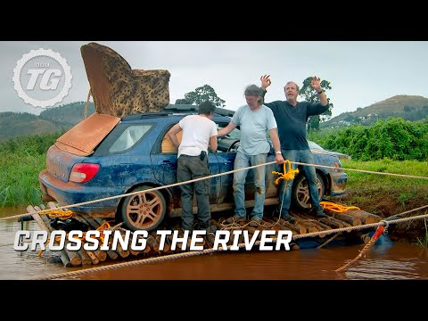 Crossing the river | Top Gear Africa Special | Series 19 | B