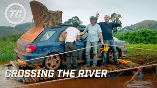 Download Crossing the river | Top Gear Africa Special | Series 19 | BBC Mp3 and Videos