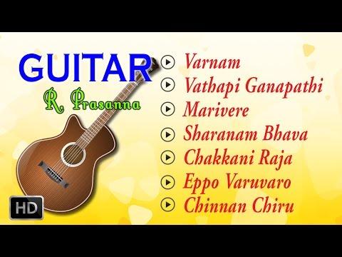 R. Prasanna - Guitar Music - Classical Instrumental - Jukebox