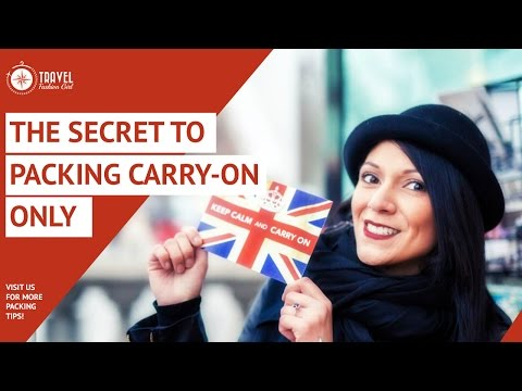 Packing Cubes: the Secret to Packing Carry-on for ANY Destination or Trip Length
