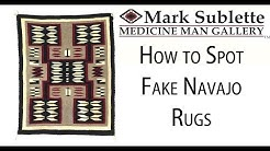 How to Identify Fake Navajo Rugs and Blankets from Mexican Copies
