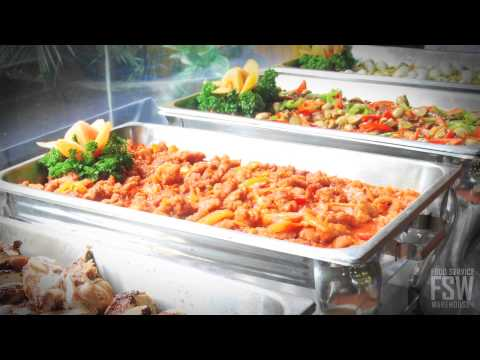 About Lift Off Chafing Dishes: Removable Lid Chafing Dishes