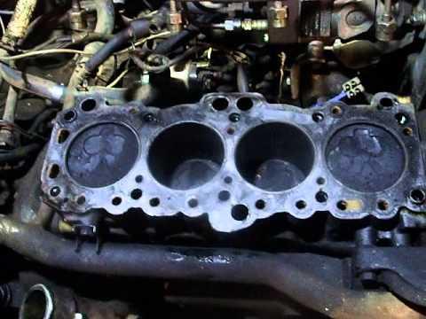 Фото к видео: ИЩЕМ ПРОБЛЕМУ Mitsubishi Galant 1800 Turbo Diesel