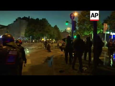 Clashes in Hamburg after G20 summit ends