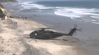 CH 53 Beach Takeoff