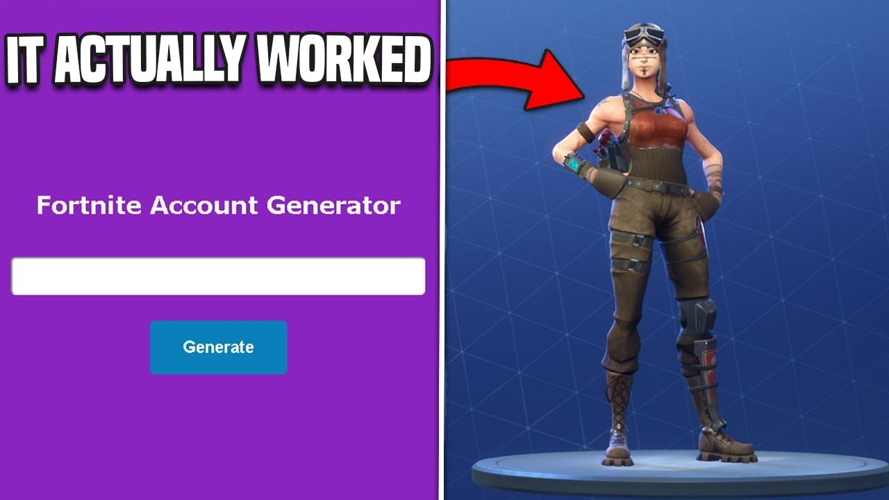 So I Used A Rare Fortnite Account Generator And It Actually Worked