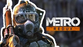 METRO 2033 REDUX - Versão Remasterizada (Gameplay no PC)