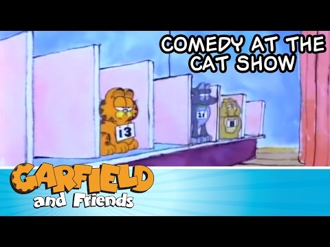 Comedy At The Cat Show - Garfield & Friends