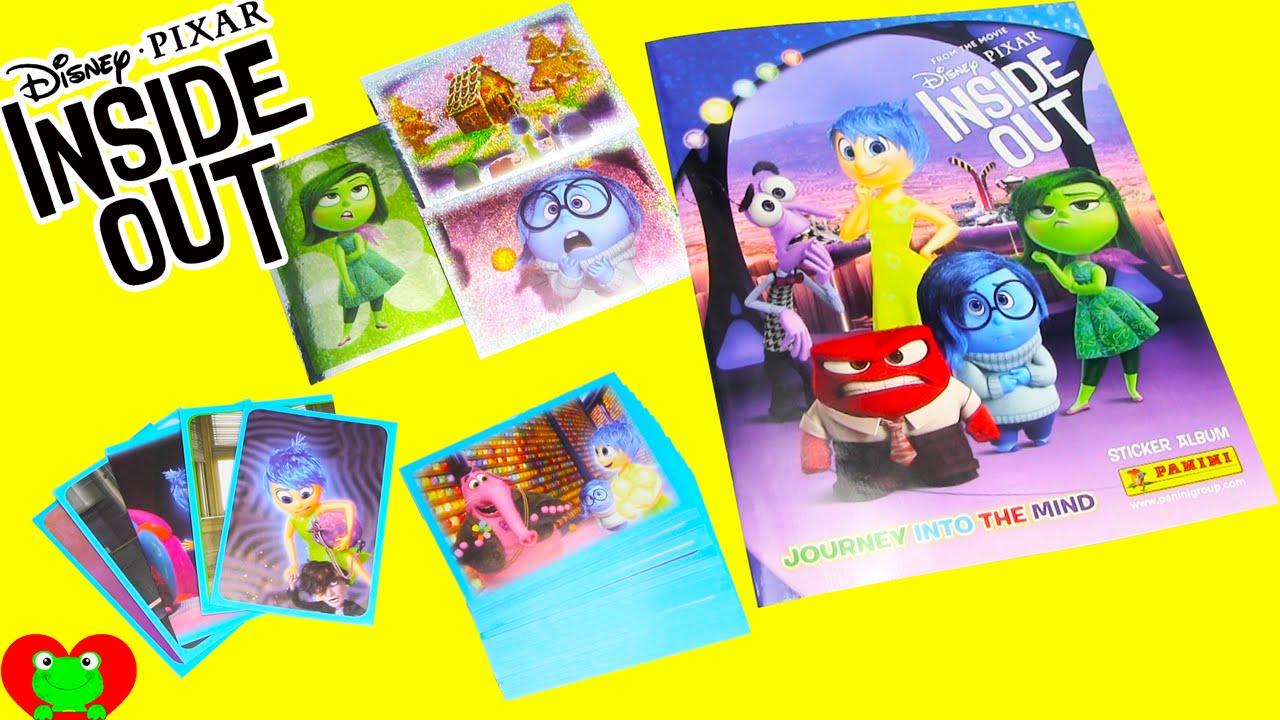 Disney Pixar Inside Out Movie Sticker Album Sticker Album Disney Pixar Pixar [ 720 x 1280 Pixel ]