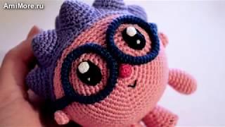 Амігурумі: схема Їжачок. Іграшки, в'язані гачком - Free crochet patterns.