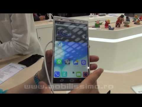 ZTE Grand Memo II LTE Hands on Preview MWC 2014 - Mobilissimo.ro