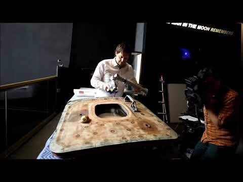 Apollo 11 Command Module Hatch