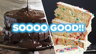 6 Sinfully Delicious Cake Recipes •tasty