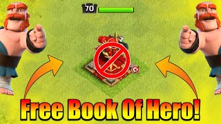 Clash Of Clan Gave Us Free Book Of Hero - This Is Insane!