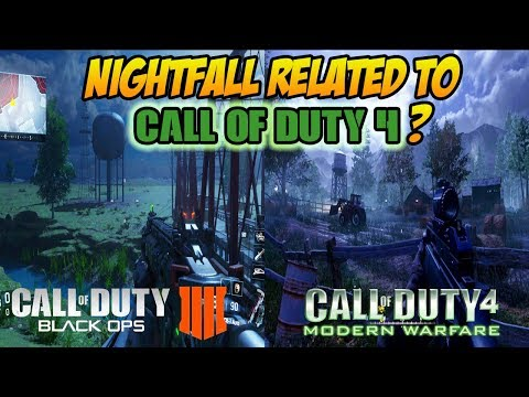 Black Ops 3 New Map NIGHTFALL Related to CoD 4? | Operation Swarm Theories | Black Ops 4 Speculation