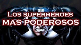 Top: Los 6 Superheroes más poderosos de Marvel y DC comics