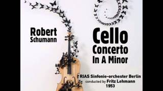 Cello Concerto in A Minor, Op. 129: III. Sehr Lebhaft