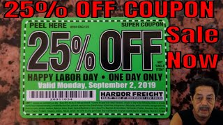 Harbor Freight Coupons - Sale Now