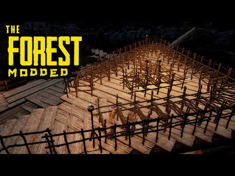 LOCAL FOOD SUPPLY! The Forest Modded S2 Episode 77
