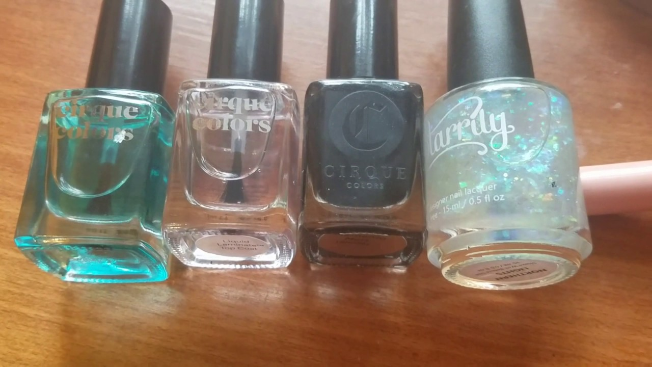 Testing New Nail Products: Cirque and Starrily - YouTube