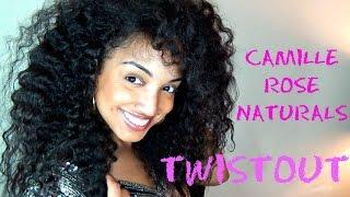 Camille Rose Naturals Almond Jai Twisting Butter Twistout