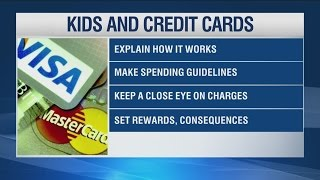 When do you get your child their first credit card?